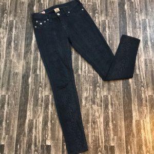 True Religion size 26 skinny jeans